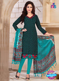 NS10689 Black and Sea Green Silk Designer Suit