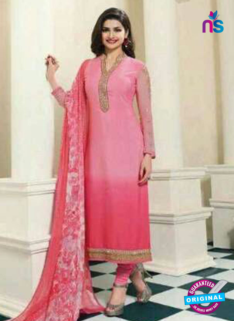 Vinay Fashion 4561 Pink Crepe Party Wear Suit