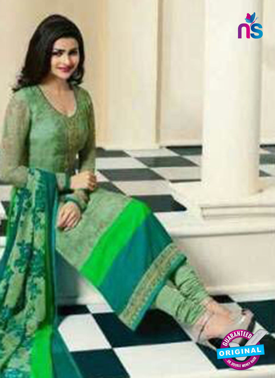 Vinay Fashion 4564 Green Crepe Party Wear Suit