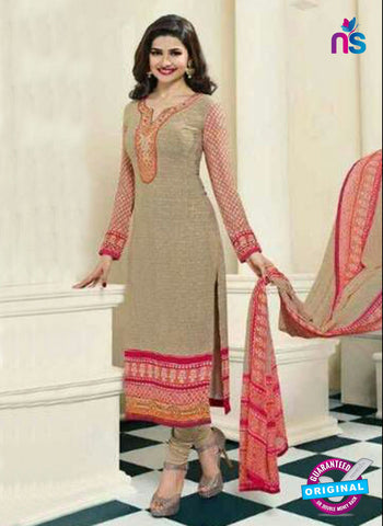 Vinay Fashion 4565 Beige Crepe Party Wear Suit