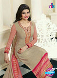 Vinay Fashion 4565 Beige Crepe Party Wear Suit Online