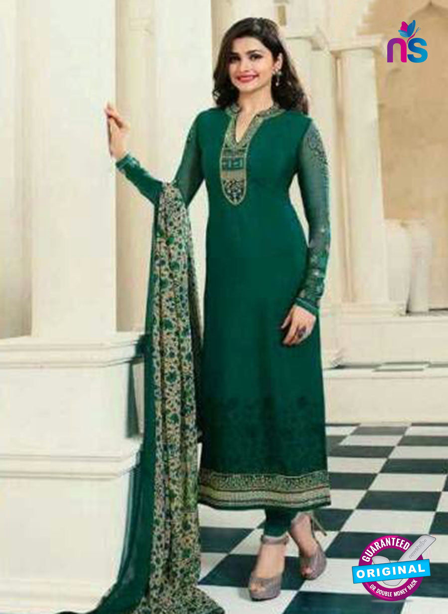 Vinay Fashion 4566 Green Crepe Party Wear Suit