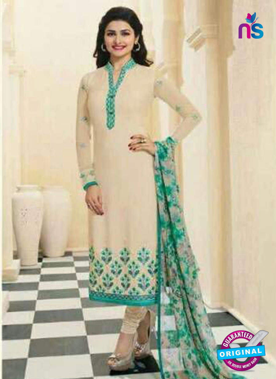 Vinay Fashion 4567 Beige Crepe Party Wear Suit