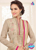 SC 14048 Beige Georgette Exclusive Fancy Designer Chudidhar Straight Suit Online