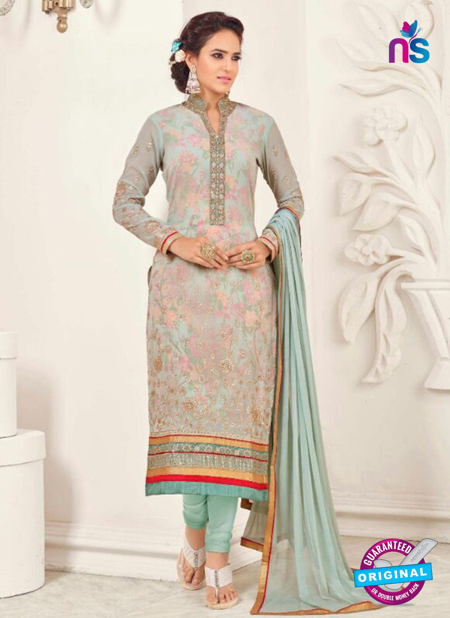 SC 14046 Sea Green Georgette Exclusive Fancy Designer Chudidhar Straight Suit