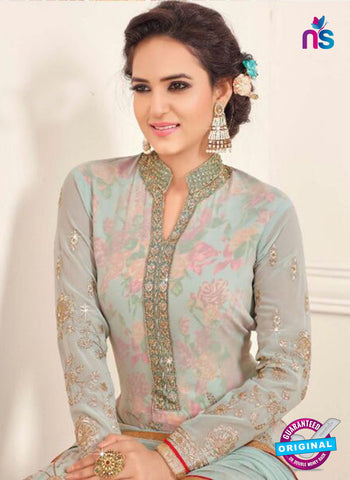 SC 14046 Sea Green Georgette Exclusive Fancy Designer Chudidhar Straight Suit Online
