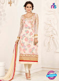 SC 14043 Beige Georgette Exclusive Fancy Designer Chudidhar Straight Suit