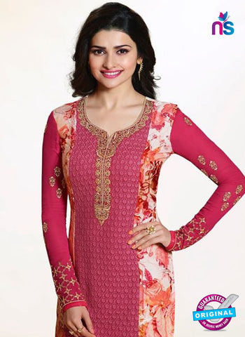 Vinay Fashion 4651 Pink Georgette Party Wear Suit