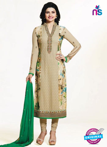 Vinay Fashion 4652 Beige Georgette Party Wear Suit