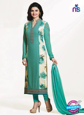 Vinay Fashion 4656 Sea Green Georgette Party Wear Suit