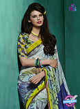 NS10232 Multicolor Georgette Saree
