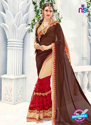 Kalista 4703 Multicolor Party Wear Saree