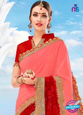 Kalista 4704 Pink Party Wear Saree