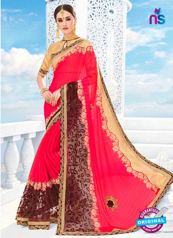 Kalista 4706 Pink Party Wear Saree