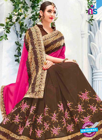 Kalista 4707 Brown Party Wear Saree