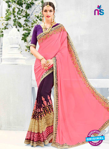 Kalista 4710 Purple Party Wear Saree