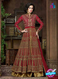 AZ 1003 Maroon and Brown Georgette Designer Suit