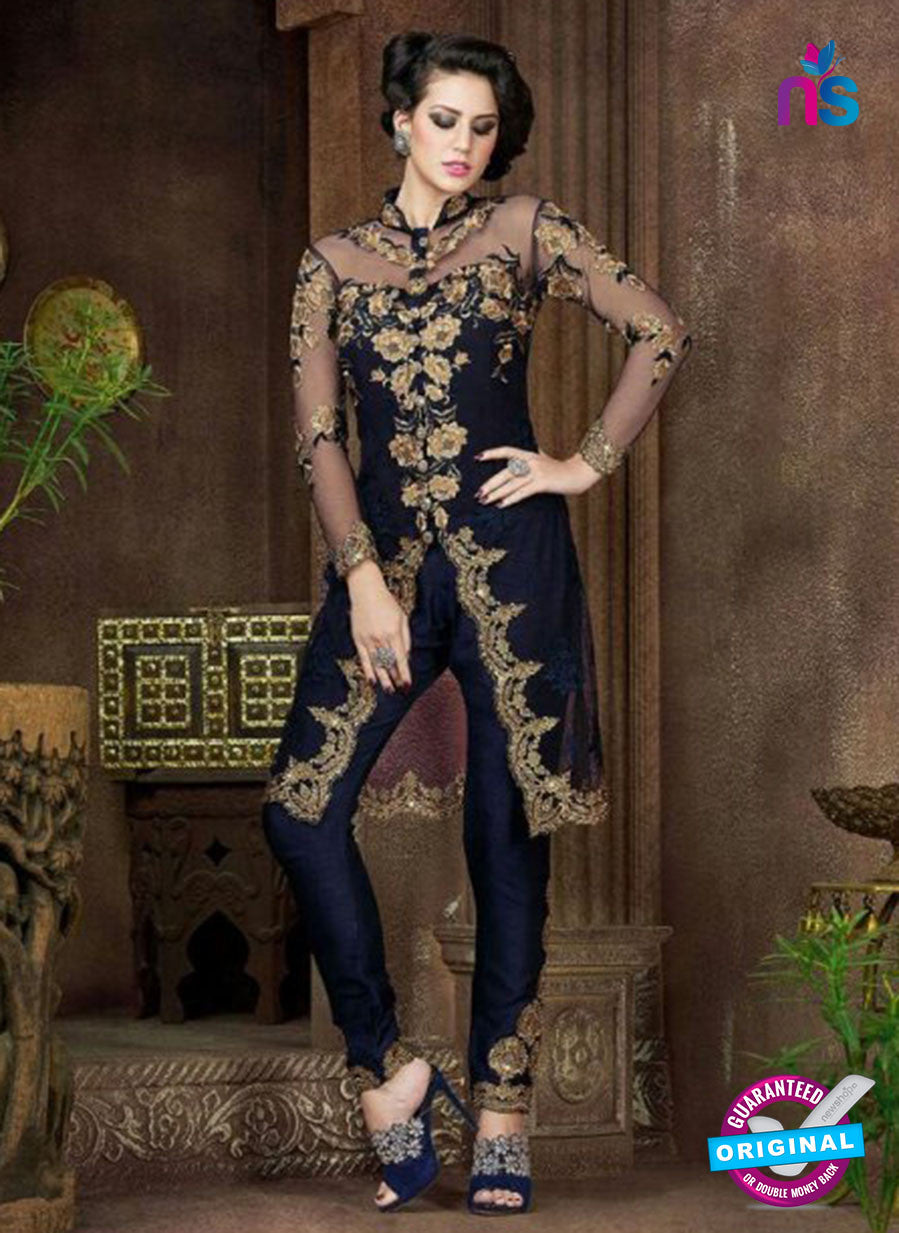 AZ 1005 Blue Georgette Designer Suit