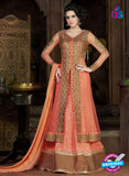 AZ 1007 Peach Georgette Designer Suit
