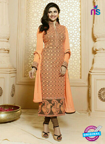 Vinay Fashion 4834 Peach Party Wear Suit