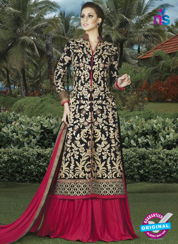 Swagat 4904 Black Indo Western Suit