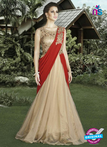 Swagat 4906 Beige Indo Western Suit