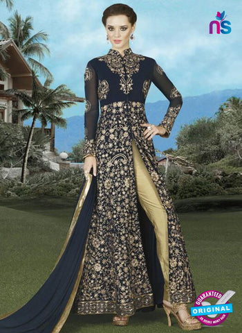 Swagat 4909 Blue Indo Western Suit
