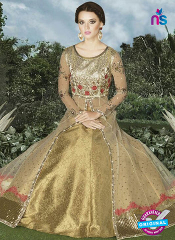 Swagat 4912 Golden Indo Western Suit