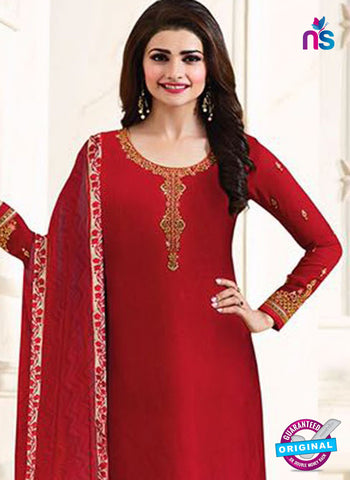 Vinay Fashion 4926 Red Party Wear Suit
