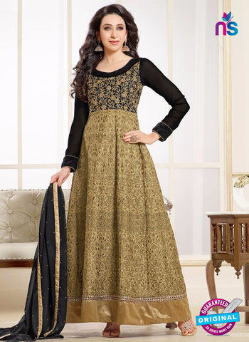 MF 50004 A Beige Georgette Anarkali Suit