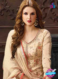 AZ 3532 Beige Georgette Pakistani Suit - Salwar Suits - NEW SHOP