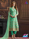 Fair Lady 5002 Green Georgette Pakistani Suit
