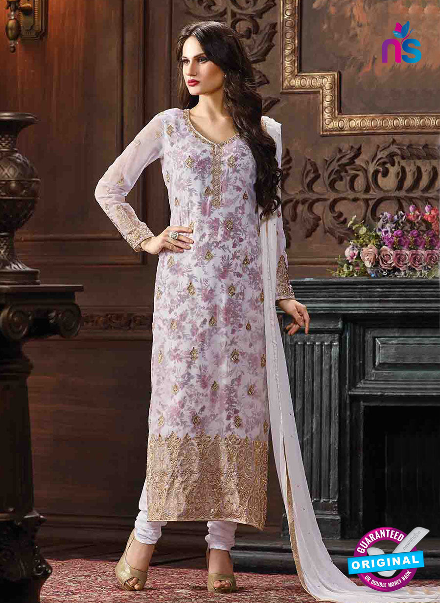 Fair Lady 5003 Purple Georgette Pakistani Suit