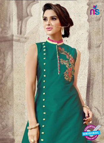 TDB Group 5003 Sea Green Indo Western Suit