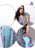 SC 13928 Multicolor and Sky Blue Glace Cotton Designer Salwar Suit