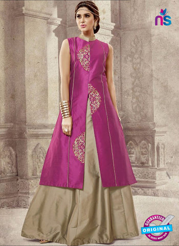 TDB Group 5006 Magenta Indo Western Suit