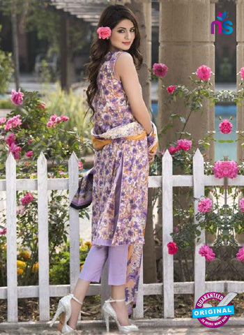 SC 13929 Purple Glace Cotton Designer Salwar Suit