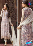 Fair Lady 5008 White Georgette Pakistani Suit