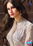 Fair Lady 5008 White Georgette Pakistani Suit Online
