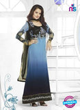 Karma 5011 Blue Color Georgette Designer Suit
