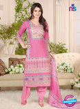 Rakhi 5017 A Pink and Multicolor Printed Cotton Suit