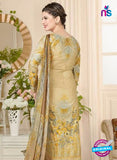Rakhi 5018 A Beige Printed Cotton Suit