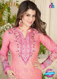 Rakhi 5020 A Pink Printed Cotton Suit