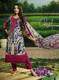 Glossy 502A  Pink Color Glace Cotton Designer Suit