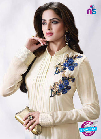 LT 502 Beige and Blue Exclusive Party Wear Georgette Tunic Online