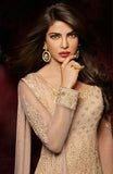 Heroine 5038B Beige Color Georgette Designer Suit