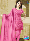 NS10762 Pink Karachi Cotton Designer suit