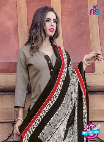 AZ 5163 Grey Pashmina Formal Kurti