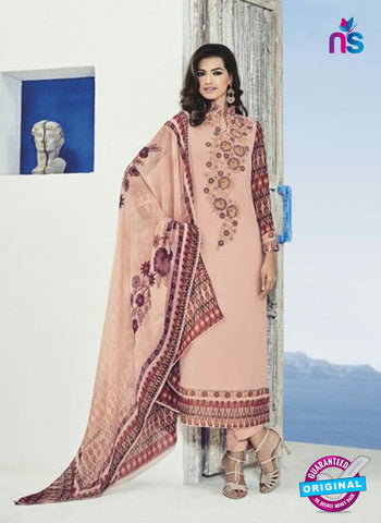 Bela 504 Pink Georgette Party Wear Suit