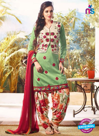Mohini 504 Green Party Wear Suit